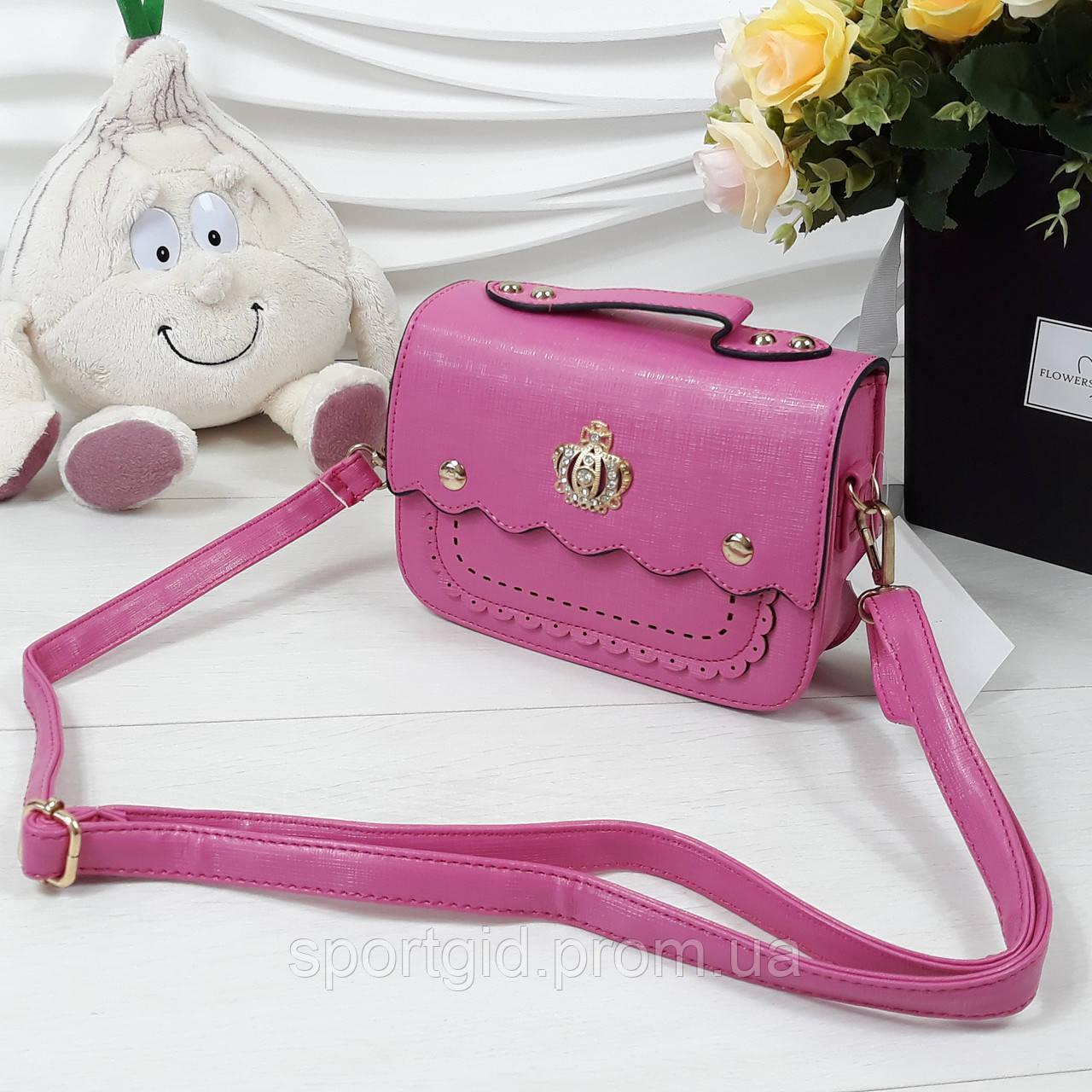 4ab43bbb9810 Яркая стильная сумочка с короной для девочки: продажа, цена в ...