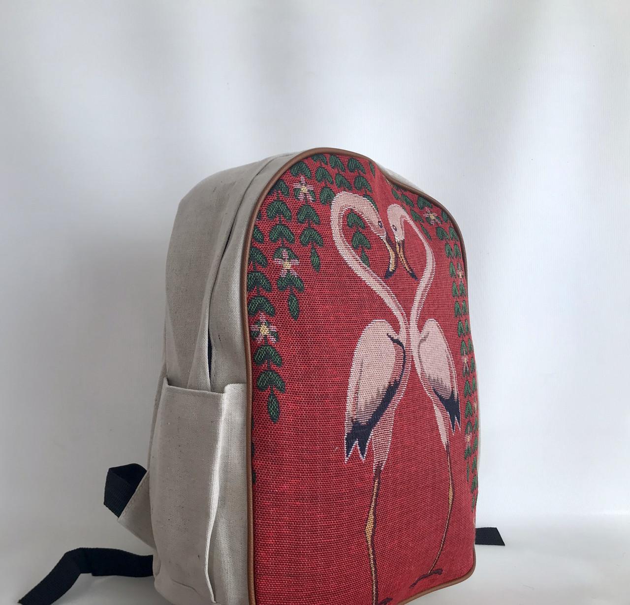 16570c7bd081 Рюкзак текстильный городской Фламинго представлен в магазине «BAGSTYLE»