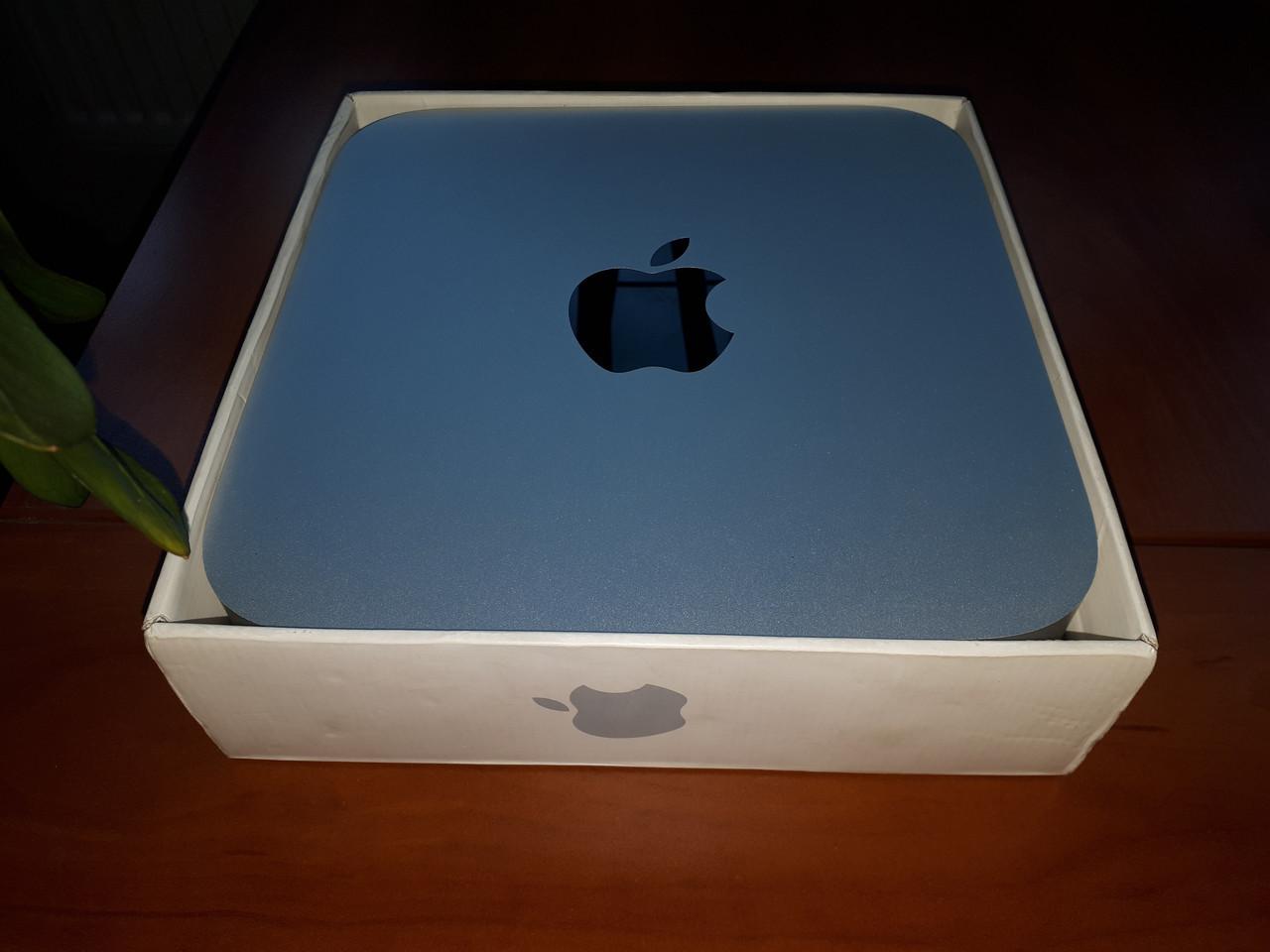 Высокопродуктивный и надежный Apple Mac Mini A1347. Супер скорость на SSD 512Gb
