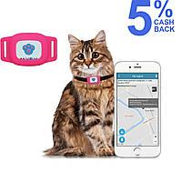 GPS ошейник для кошек MYOX MPT-03CG (розовый)
