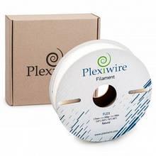 Пластик в котушці Flex 1,75 Білий, 0.9 кг/300м, Plexiwire