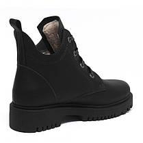 Ботинки черные кожаные 854-30, фото 3