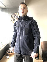 Куртка SOFT SHELL ДСНС (МЧС) Темно синяя 280-300гр/м
