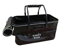 Сумка рибальська (ящик для риболовлі) для зберігання риби EVA 45см (SF23838)