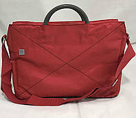 Сумка (портфель) для ноутбука полиэстер 40х30х7см Stenson (N02238) Красная