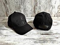 Кепка бейсболка блайзер Кепка Calvin Klein кельвин кляйн черная (реплика)