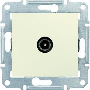 Розетка TV Sedna крем SDN3201623 Schneider Electric