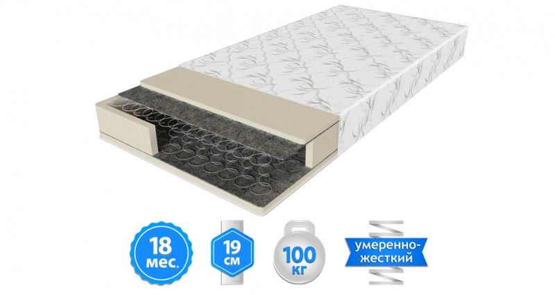 Матрас Шанс-1 70х190 (ЕММ-ТМ)