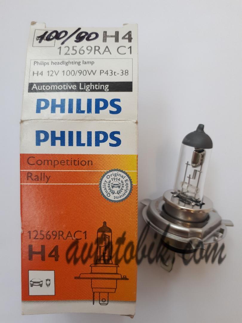 Автолампа Philips Competition Rally H4 12V 100/90W (1шт.)