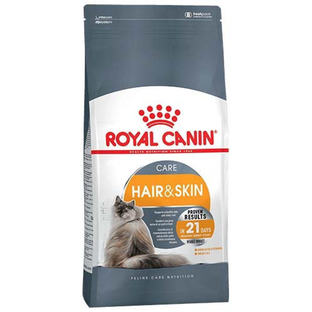 Роял Канин Корм для кошек Hair Skin с проблемной шерстью и чувствительной кожей 2 кг