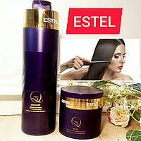 Набор экранирование для волос шампунь (1000) и маска (300) Estel Q3 Comfort