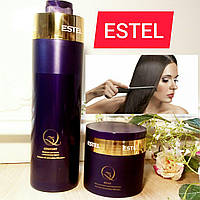 Набор шампунь и маска Estel Professional Q3 Relax для волос с комплексом масел(1000мл и 300мл)