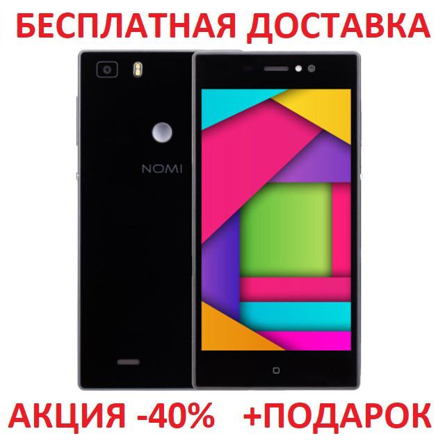 """Сенсорный мобильный телефон Nomi i5030 Evo X Black смартфон 5"""" Android 1Gb/16Gm"""
