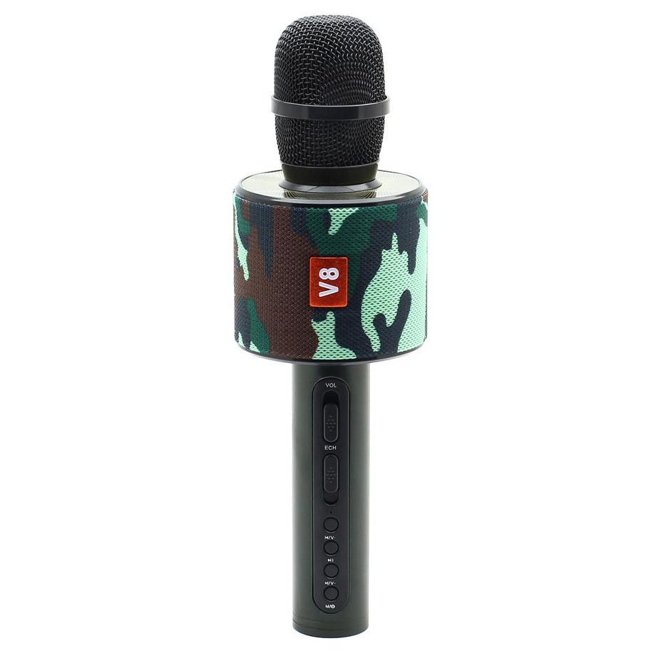 Караоке микрофон bluetooth V8 +чехол в подарок