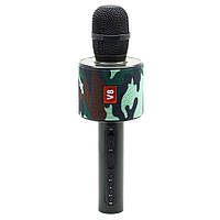 Караоке микрофон bluetooth V8 +чехол в подарок, фото 1