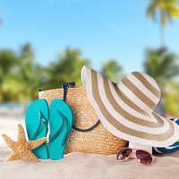Пляжні аксесуари, товари для водного спорту та відпочинку