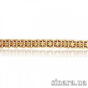 Золотой браслет Форсе бисмарк 3889
