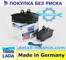 Колодки передние ВАЗ 2110-15 Калина 1117, 1118, 1119, Приора 2170 2171 Finwhale 2110-3501080 тормоза дисковые