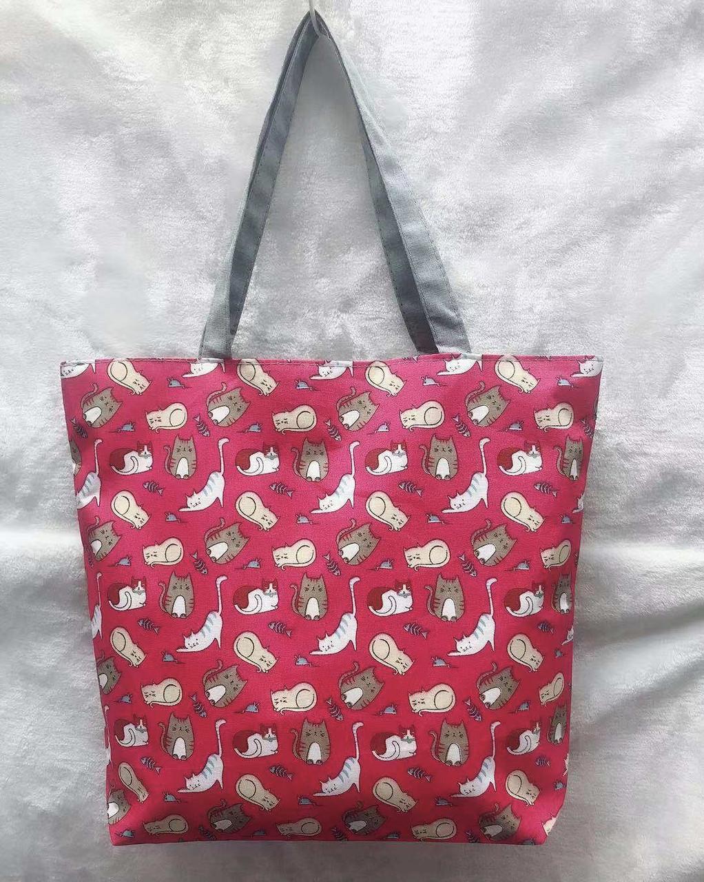 3b4a3c82153b Пляжная сумка Котики представлен в магазине «BAGSTYLE»