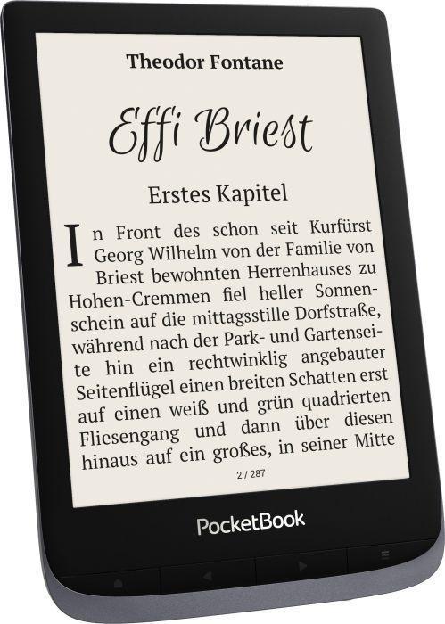 Электронная книга Pocketbook 632 Touch HD 3 (PB632-J-WW) Gray