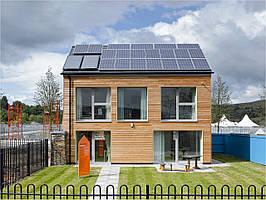 Сонячні батареї (сонячні панелі) для будинку, дачі - пристрій і принцип роботи.