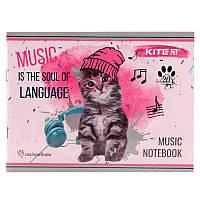 Тетрадь для нот Kite Rachael Hale R19-405-2 А5, 20 листов