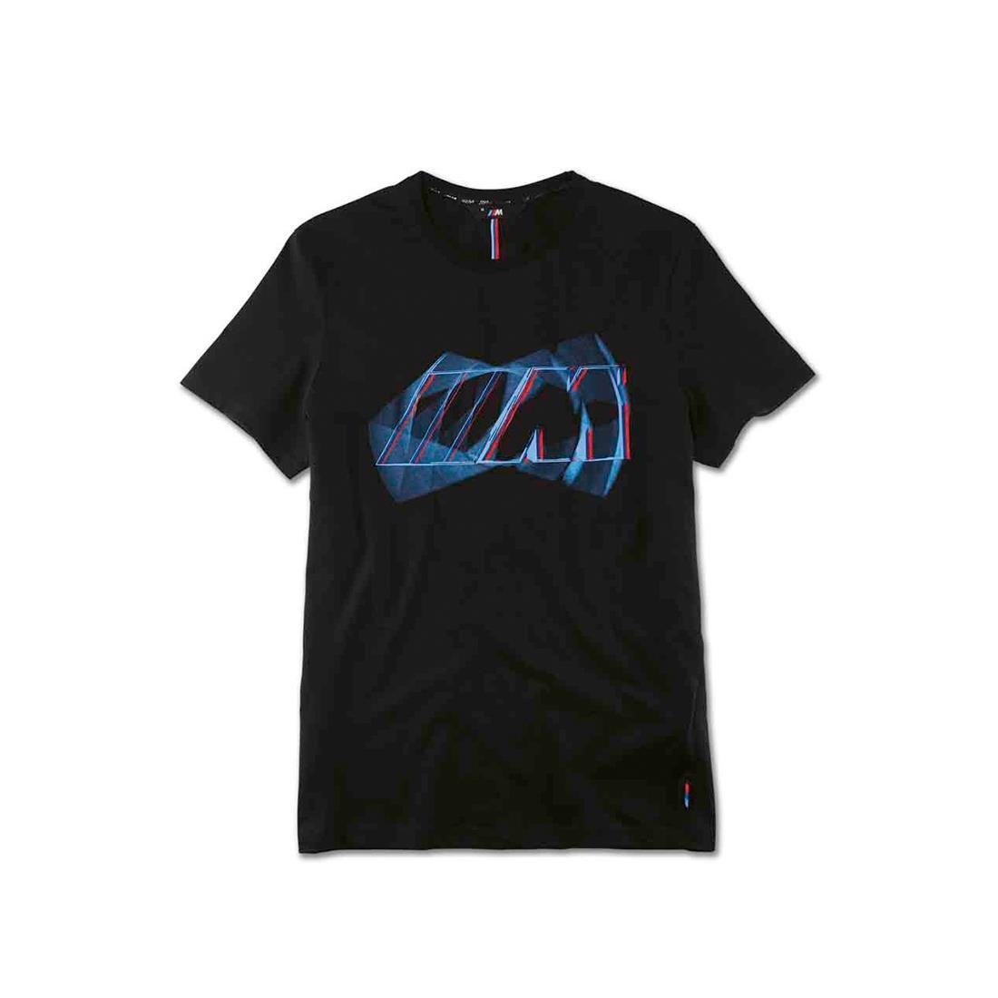 Оригінальна чоловіча футболка BMW M Logo T-Shirt, Men, Black