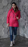 Куртка женская весенняя Aziks м-170 малиновая