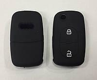 Силиконовый чехол на выкидной ключ Audi 2 кнопки