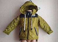 Куртка\жилетка- парка Сова для мальчика 1-8 лет демисезонная, фото 1
