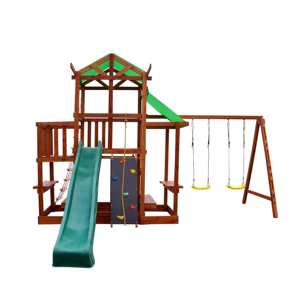 Детский игровой комплекс SportBaby Babyland-9 для дачи