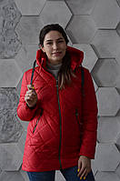 Куртка женская весенняя Aziks м-170 красная 48