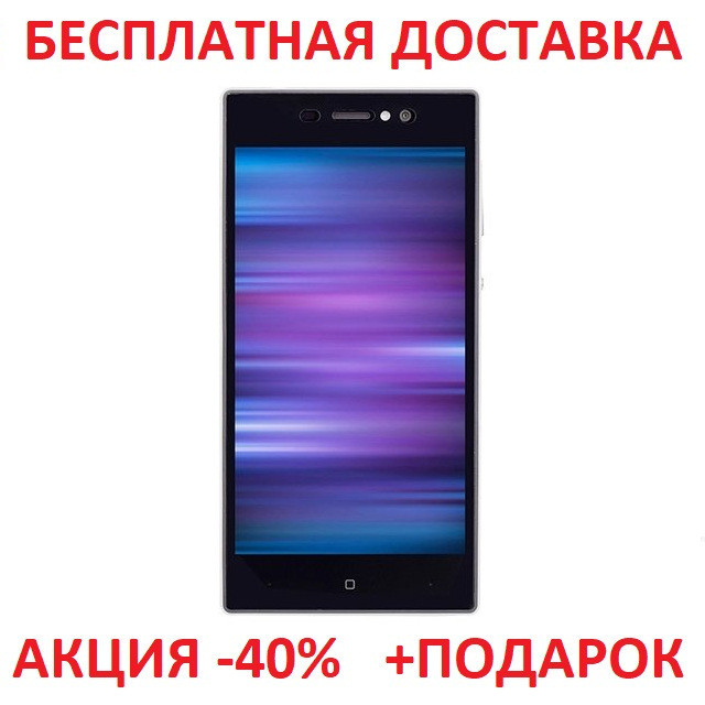 """Сенсорный мобильный телефон Nomi i5030 Evo X White смартфон 5"""" Android 1Gb/16Gm"""