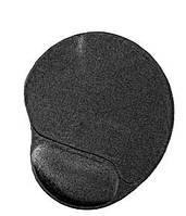 Коврик для мыши MP-GEL-Black  Материя с гел.подставкой для кисти