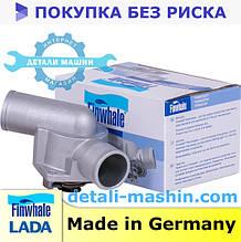 Крышка термостата с термоэлементом t85 ВАЗ 2110-12 Приора 2170 2171 2172 c 2003 Finwhale 21101306010 термостат
