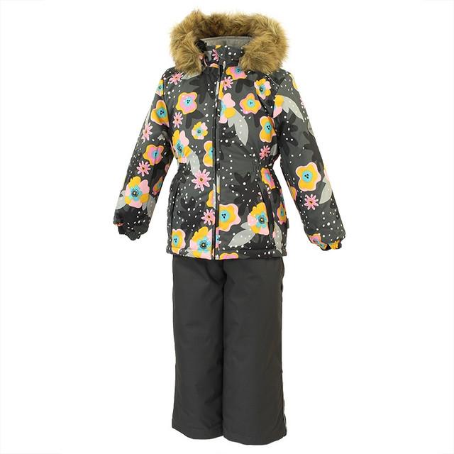 Зимние костюмы и комбинезоны для девочек