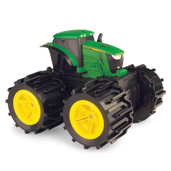 John Deere:трактор Monster Treads с большими колесами  46645 TOMY