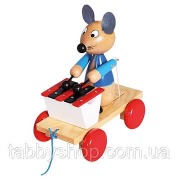 """Каталка с ксилофоном BINO """"Мышка"""""""