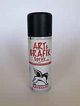 Акрилова фарба в аерозолі, 2 чорна, 200мл ART & GRAFIK