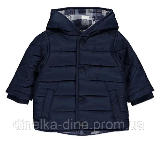 Модная весенняя курточка на мальчика 12-18 мес