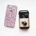 Бездротові навушники Bluetooth 5.0 гарнітура Wi-pods S7 Оригінал з вологозахистом із чохлом Power bank. Gold, фото 5