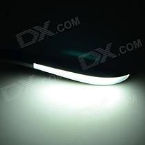 USB 3W 16-LED 6000K светодиодная лампа + выключатель - черный, фото 3