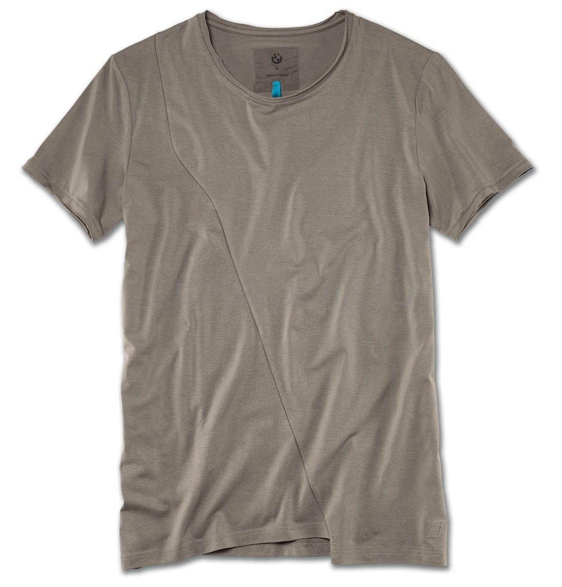 Чоловіча футболка BMW i T-Shirt Men Taupe (80142454793)