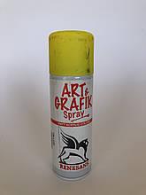 Акрилова фарба в аерозолі, 3 жовта, 200мл ART & GRAFIK