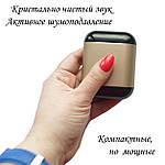 Бездротові навушники Bluetooth 5.0 гарнітура Wi-pods S7 Оригінал з вологозахистом із чохлом Power bank. Gold, фото 3