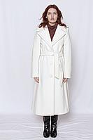 Пальто женское кашемировое белое / пальто кашемірове біле