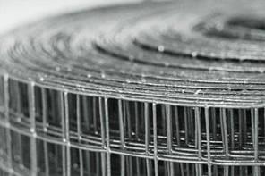 Сетка оцинкованная сварная 25*12,5 / 0,7мм 1,0/30м, фото 2