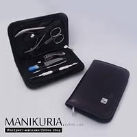 Набор маникюрно-педикюрный Сталекс НМ-09 портмоне мужской 6 предмета