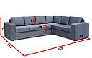 Кутовий диван Чікаго В 32, фото 2