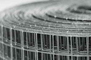 Сетка оцинкованная сварная 12,5*12,5 / 0,7мм 1,0/30м, фото 2